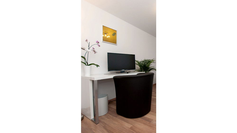 Small desk in the double room